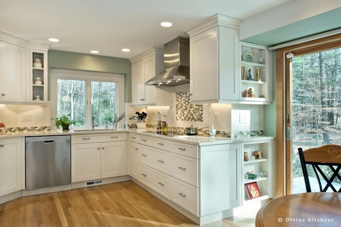 Transitional Kitchens Divine Kitchens Boston Kitchen/Bath Design+