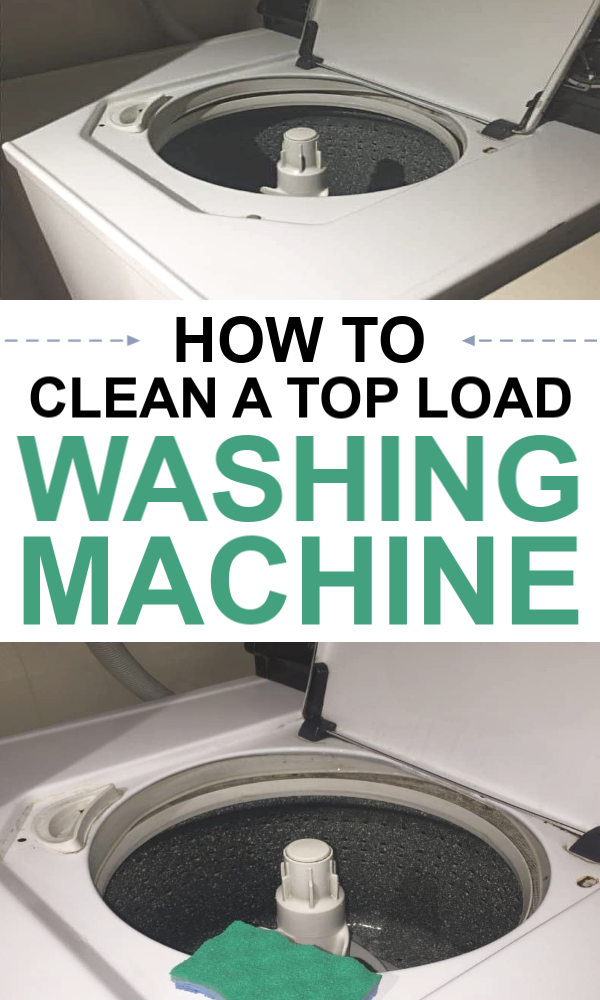 How to Clean a Top Load Washing Machine - Tips Tha
