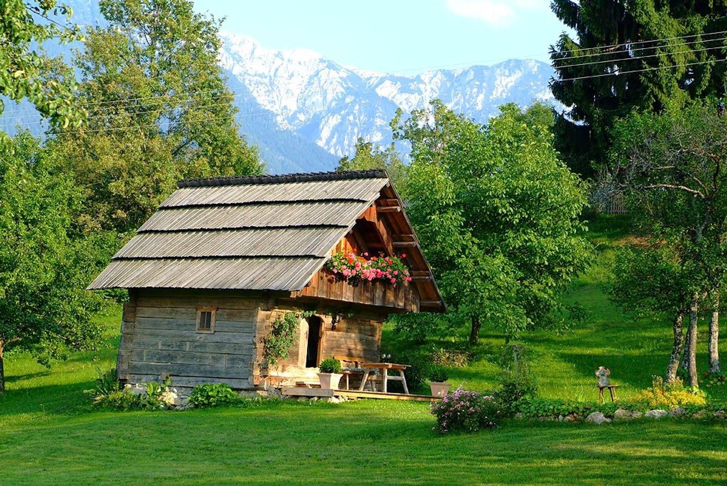 Romantische Hütte Hütten zur Miete in Trieblach, Kärnten