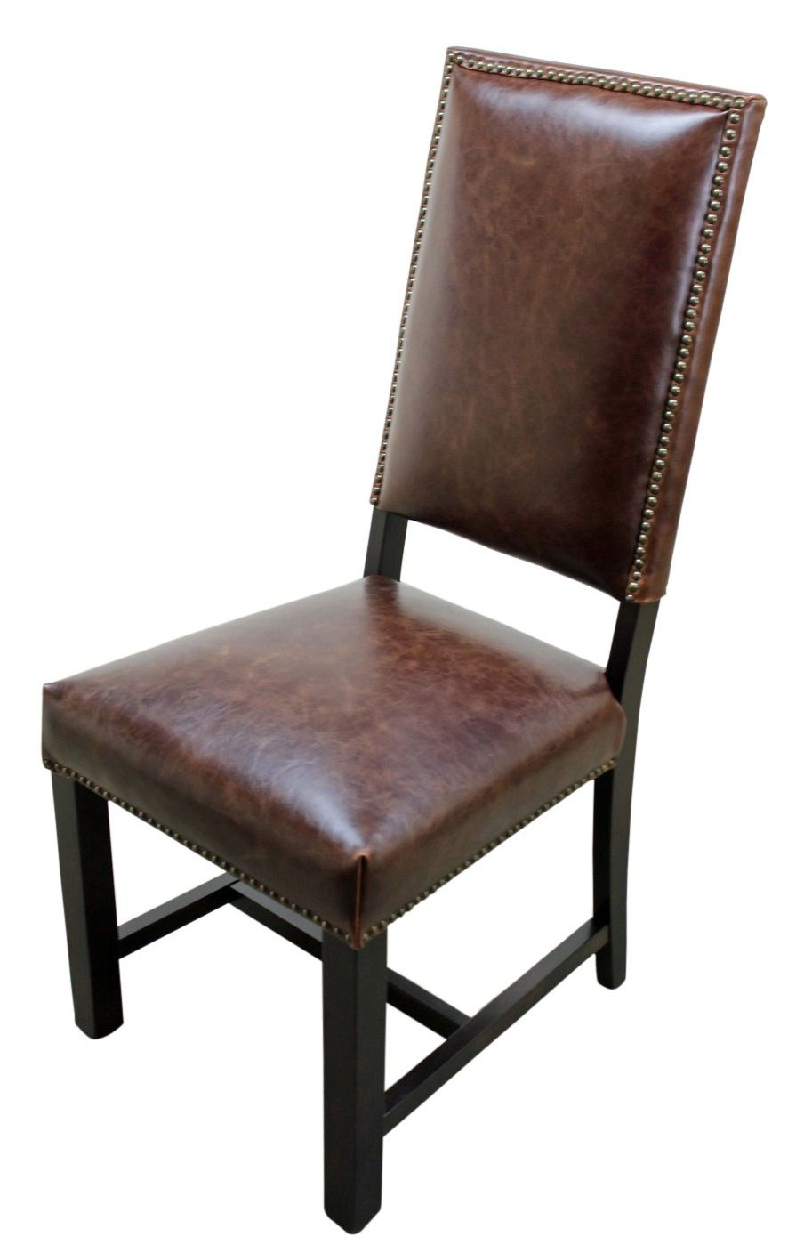 Genuine Leather Dining Chairs  sc 1 st  Pinterest & Genuine Leather Dining Chairs | Leather Dining Chairs | Pinterest ...