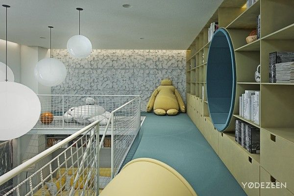Photo of A Kids Friendly Apartment Design With Lots Of Playful Features