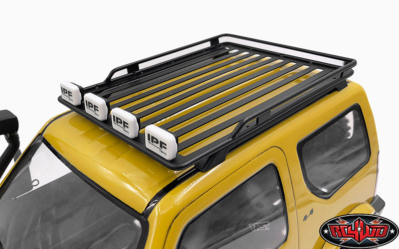 Vvv C0669 Roof Rack For Mst 1 10 Cmx W Jimny J3 Body Roof Rack Suzuki Jimny Suzuki Samurai