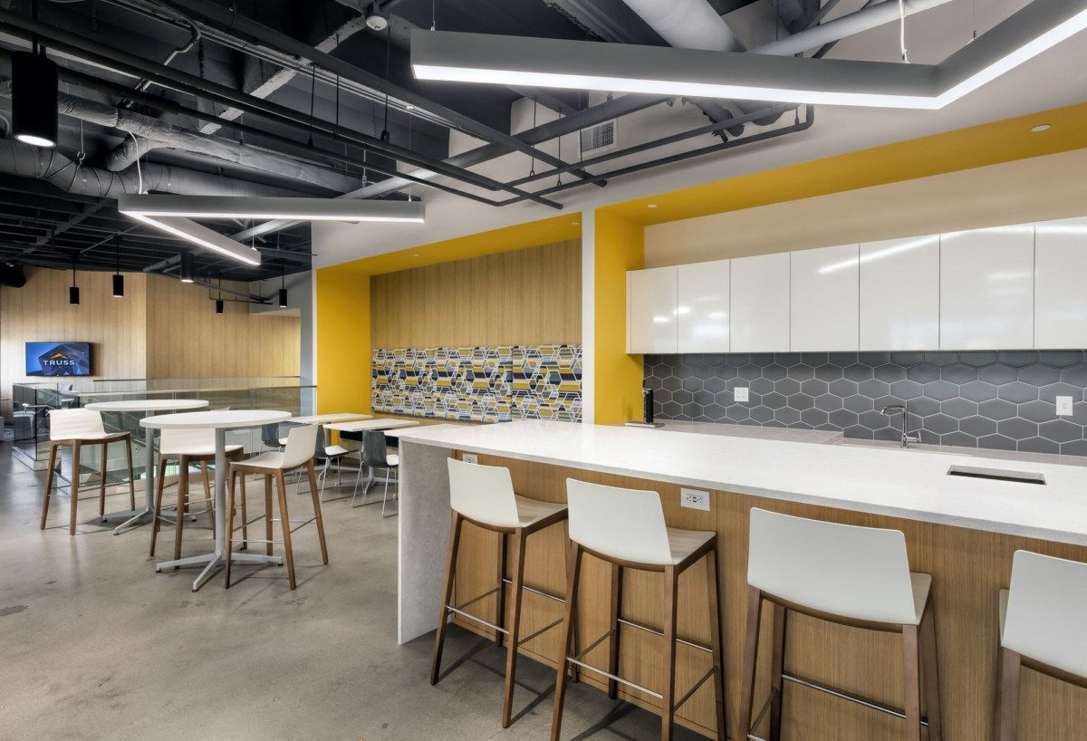 Office Tour Truss Offices Kansas City Lunch Room Office Design Architecture Design