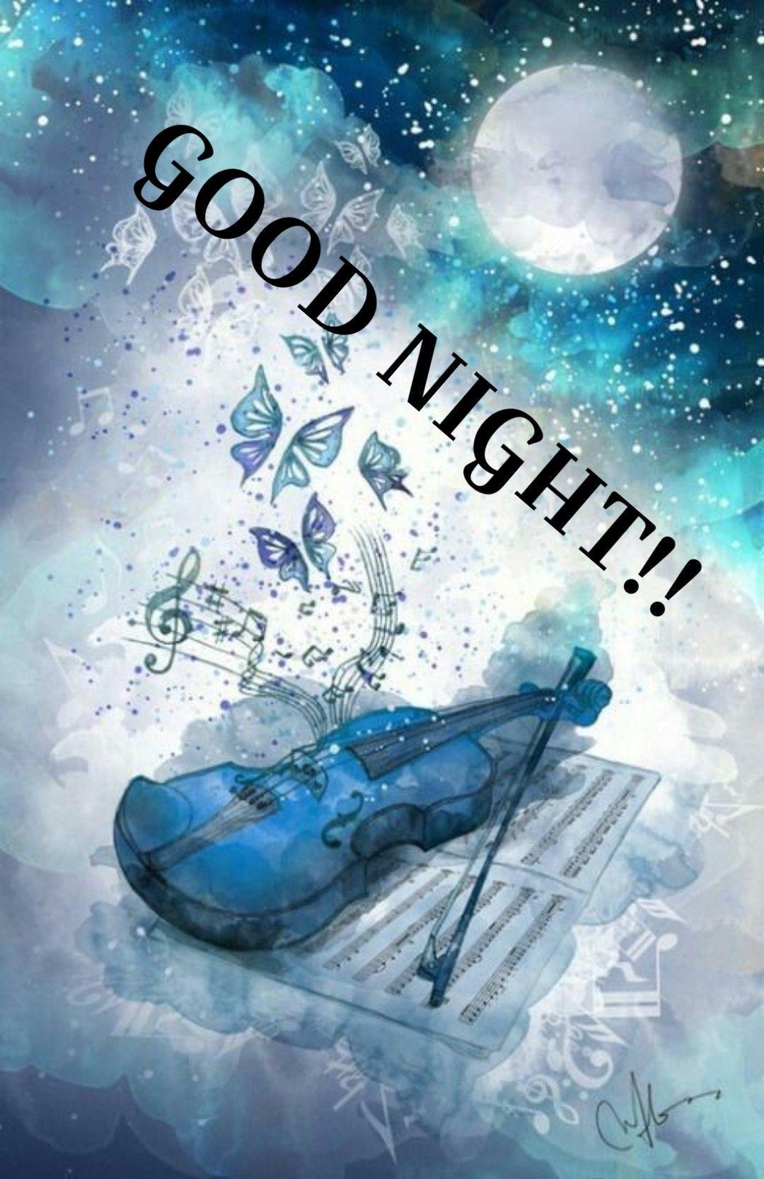 Immagine Su Good Night Di Lizette Pretorius Buonanotte Notte
