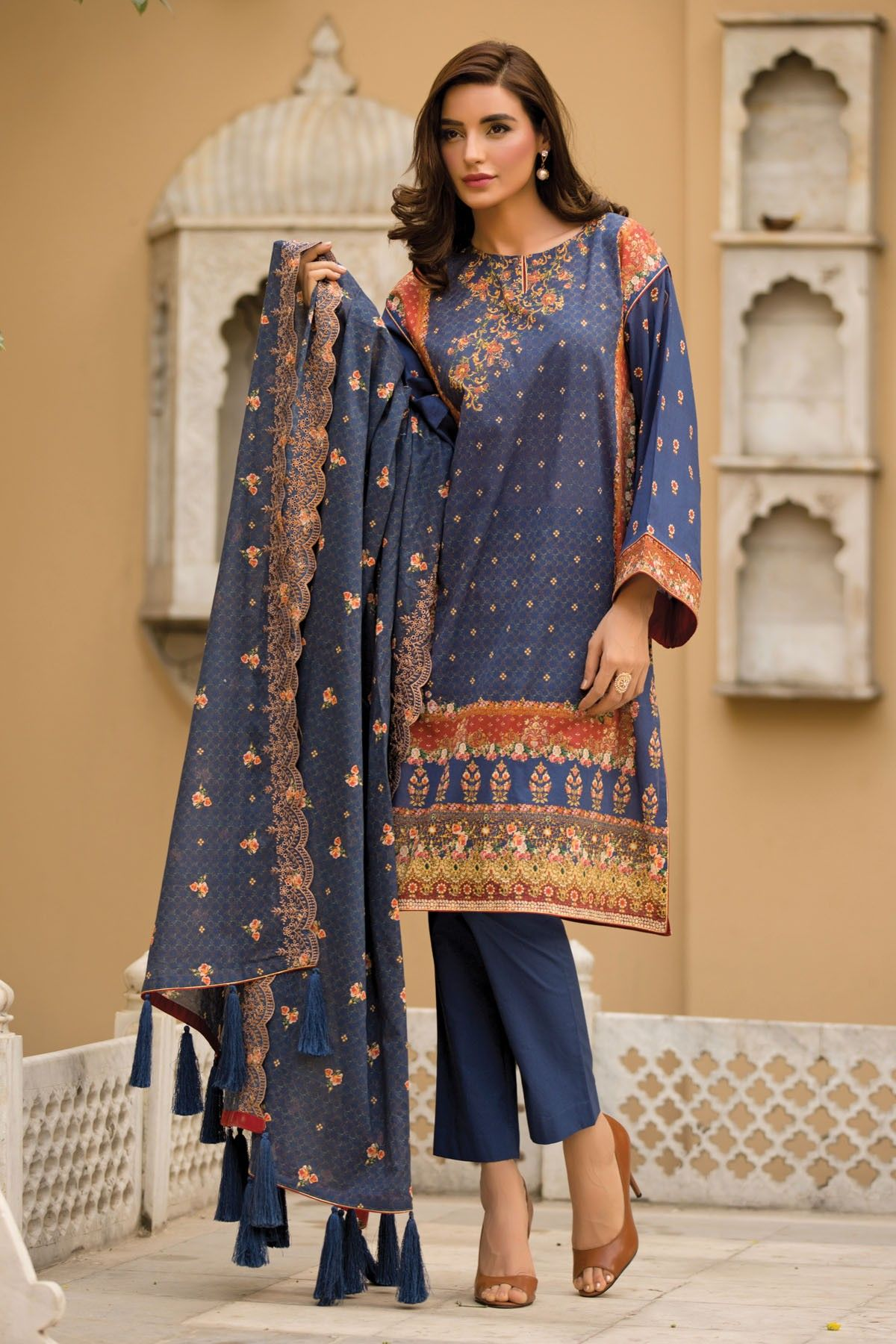 Warda spring summer collection 2016 vol 1 with prices beststylo com - Kayseria Pret Printed Eid Dresses Collection 2016 Pure Spirit