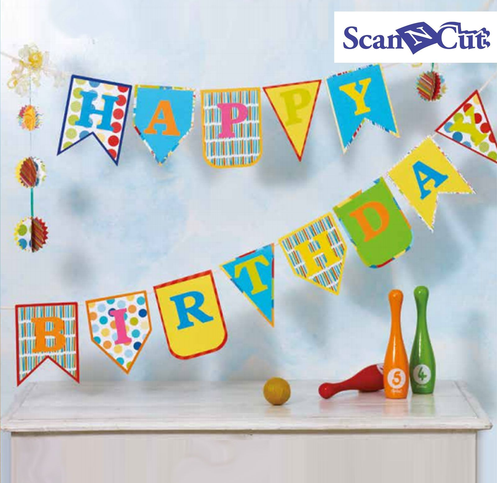 Hy Birthday Banner Create And Craft