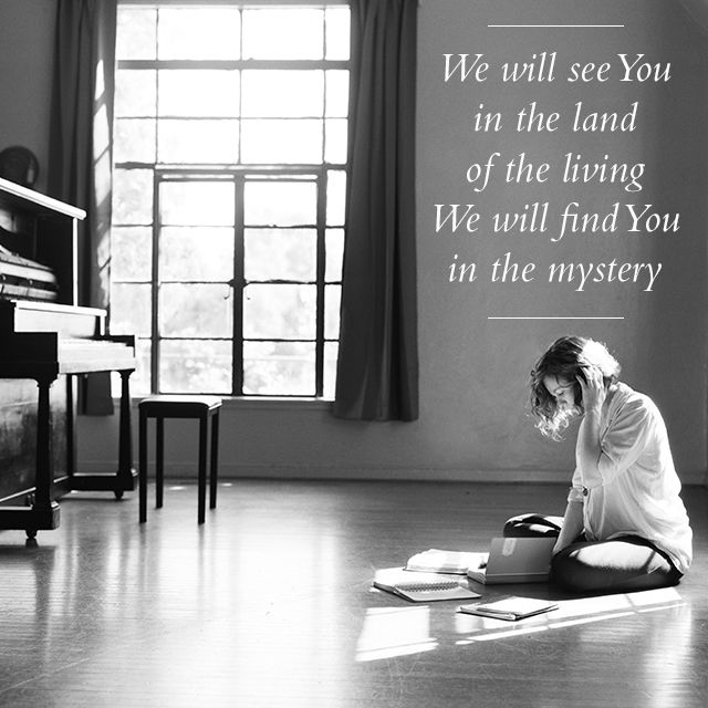 Lyric Image From The Song Getting There Off Of The Album The Undoing Bethel Music Father Songs Morning Songs