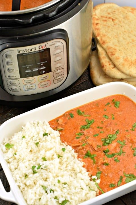 Instant Pot Butter Chicken Recipe (Shugary Sweets) #instantpotchickenrecipes