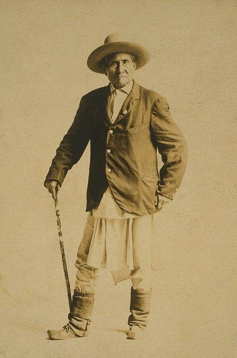 Geronimo 1829-1909, Chiricahua Apache Photograph