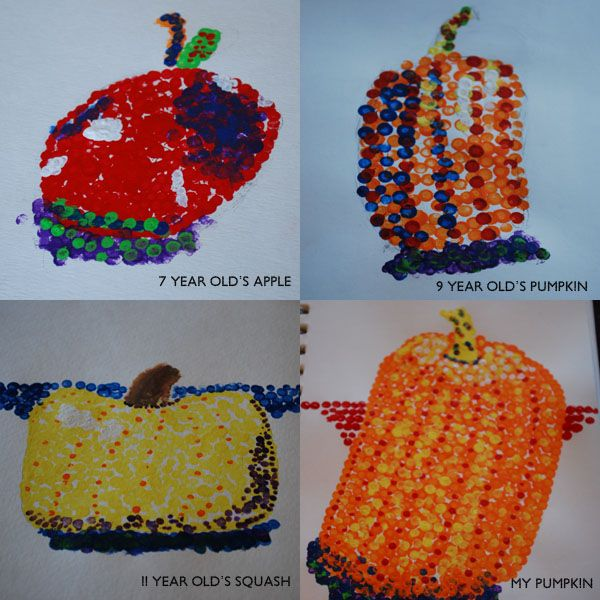 A review of See The Light Art Project: Pointillism Fruit