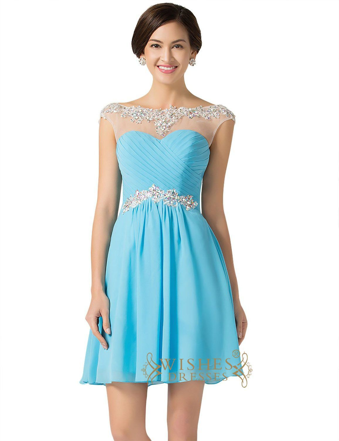 Chiffon Short Formal Dresses