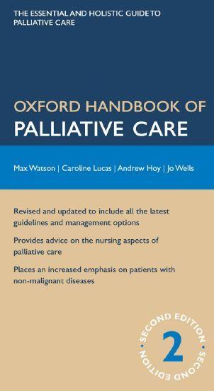 Oxford Handbook of Palliative Care 2nd Edition PDF