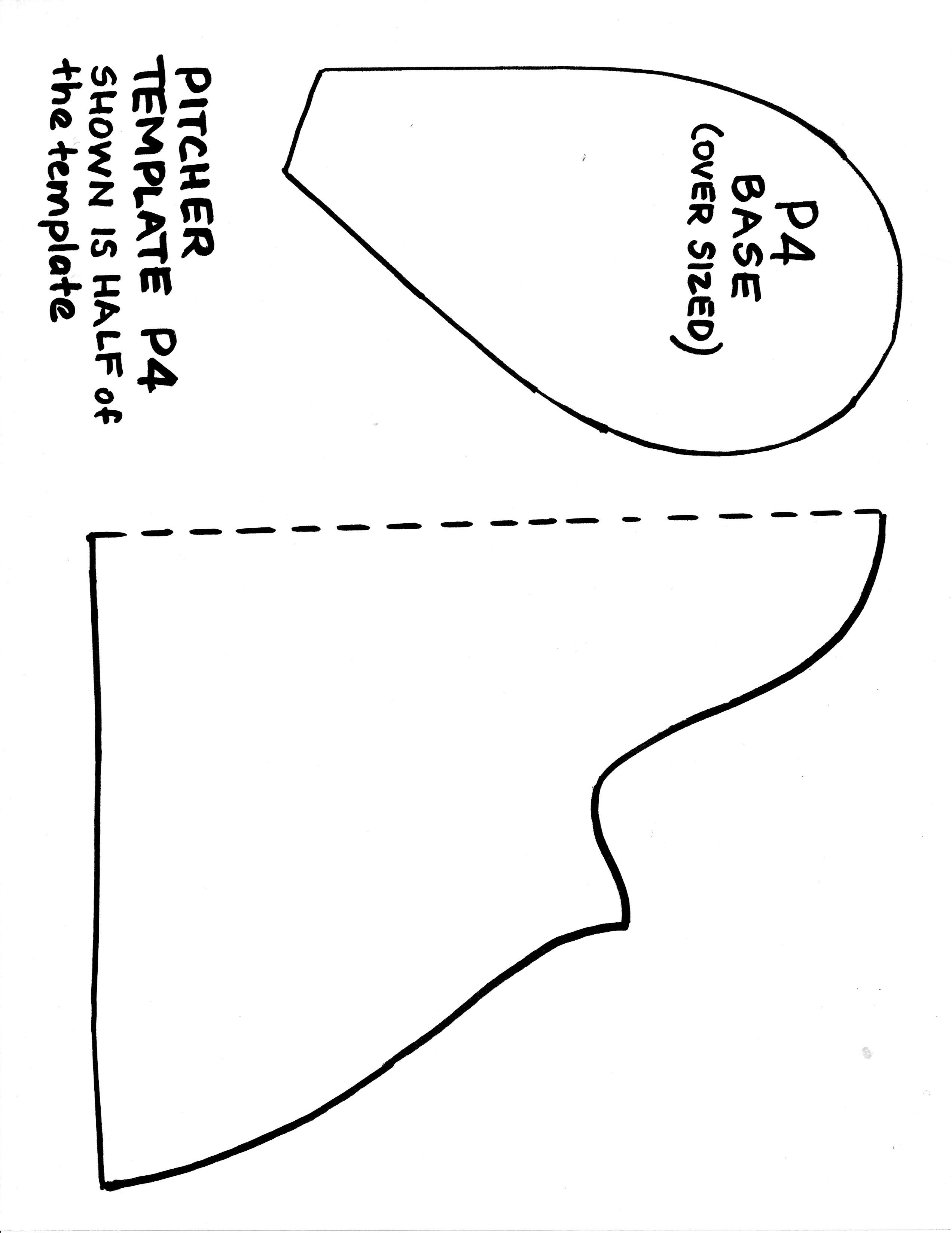 Slab Pottery Templates