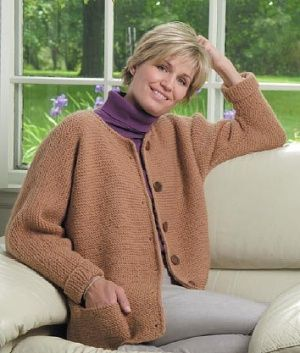 e81970816f05 One-Stitch Adult Cardigan An easy
