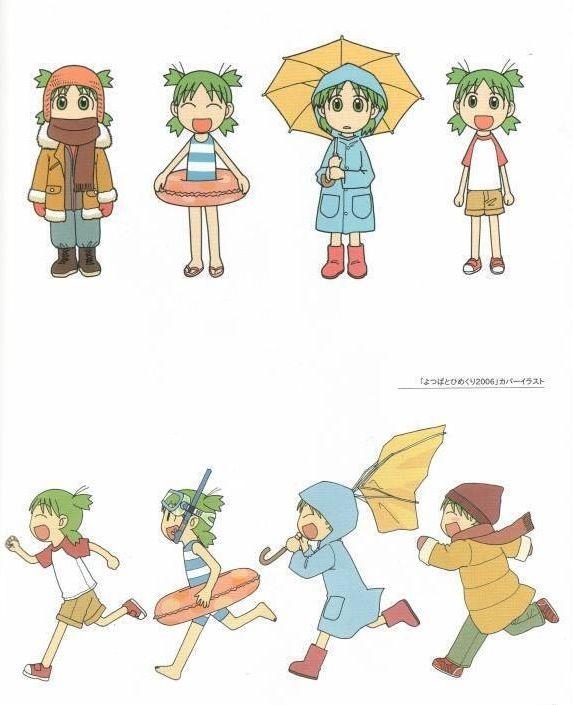 seasons anime yotsuba illustration