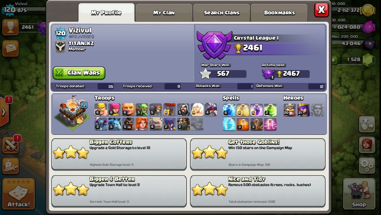 Inexpensively Clash Of Clans Account Lvl 120 Th 11 Change Name Still Available For Sale Offer 117840297 Playe Clash Of Clans Account Clash Of Clans Clan