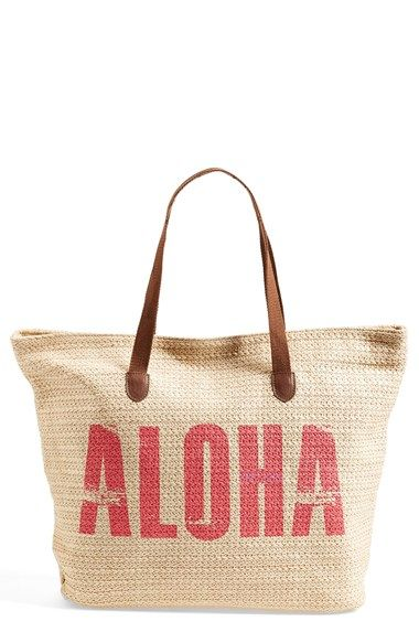 Free Shipping And Returns On Rip Curl Aloha Beach Bag At Nordstrom Greet The Way Islanders Do With A Woven Straw That S Ious Enough