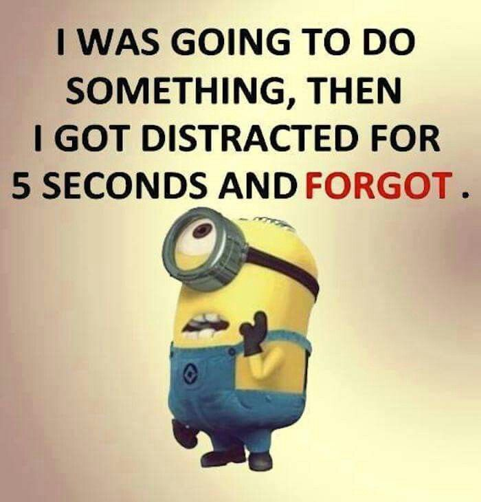 I Can Relate Forgetful Memory Minion Minions Funny Funny Minion Quotes Funny Quotes
