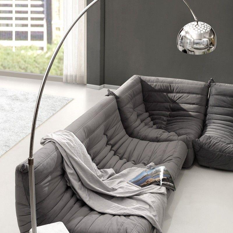 Zuo Ion Chrome Floor Lamp