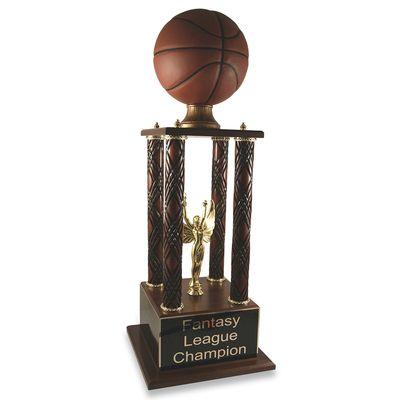 Prestige Fantasy Basketball Trophy Basketball Trophies Fantasy Basketball March Madness Trophy
