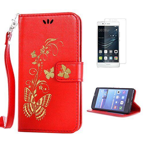 Yrisen 2in 1 Huawei P9 Lite Tasche Hulle Wallet Case Schu
