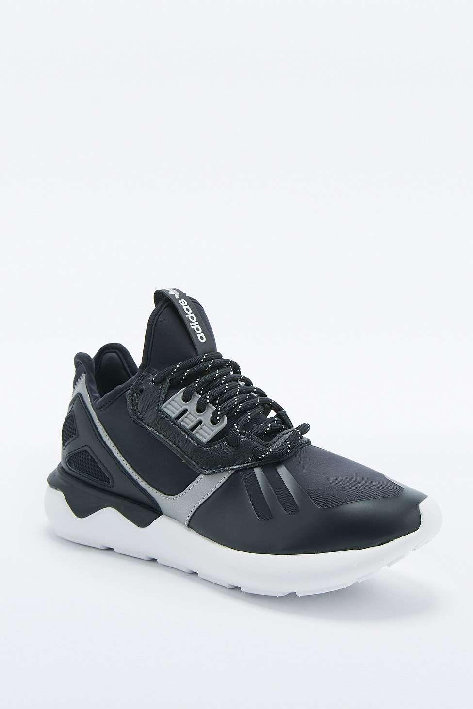 96685f10f0b0 adidas Originals Tubular 93 Black Trainers - Urban Outfitters ...