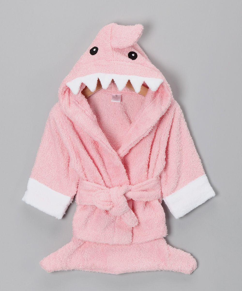 Pink Let the Fin Begin Shark Robe   Fin\'s Board   Pinterest
