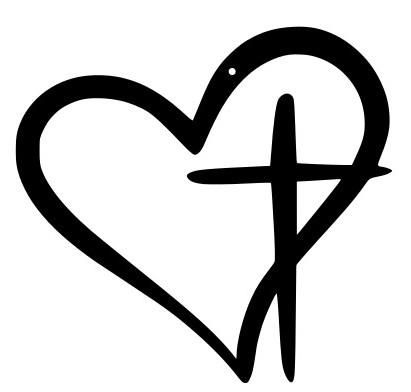 The Cross Heart sign is a great way to personalize your space or serve as the perfect gift.