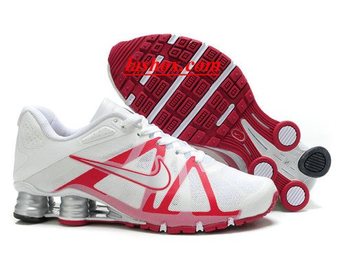 official photos c6dc9 194a1 ... chaussures nike shox roadster homme blanc rouge chaussures nike shox  roadster homme blanc rouge http ...
