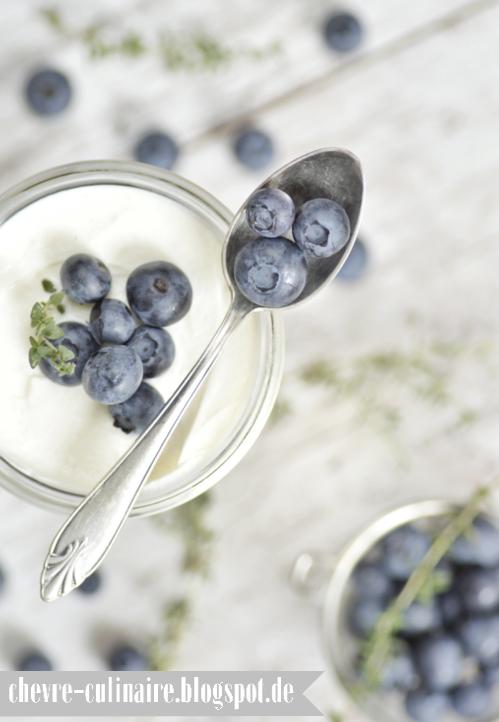 ... blueberry tiramisu with thyme (lactose/gluten-free) ...