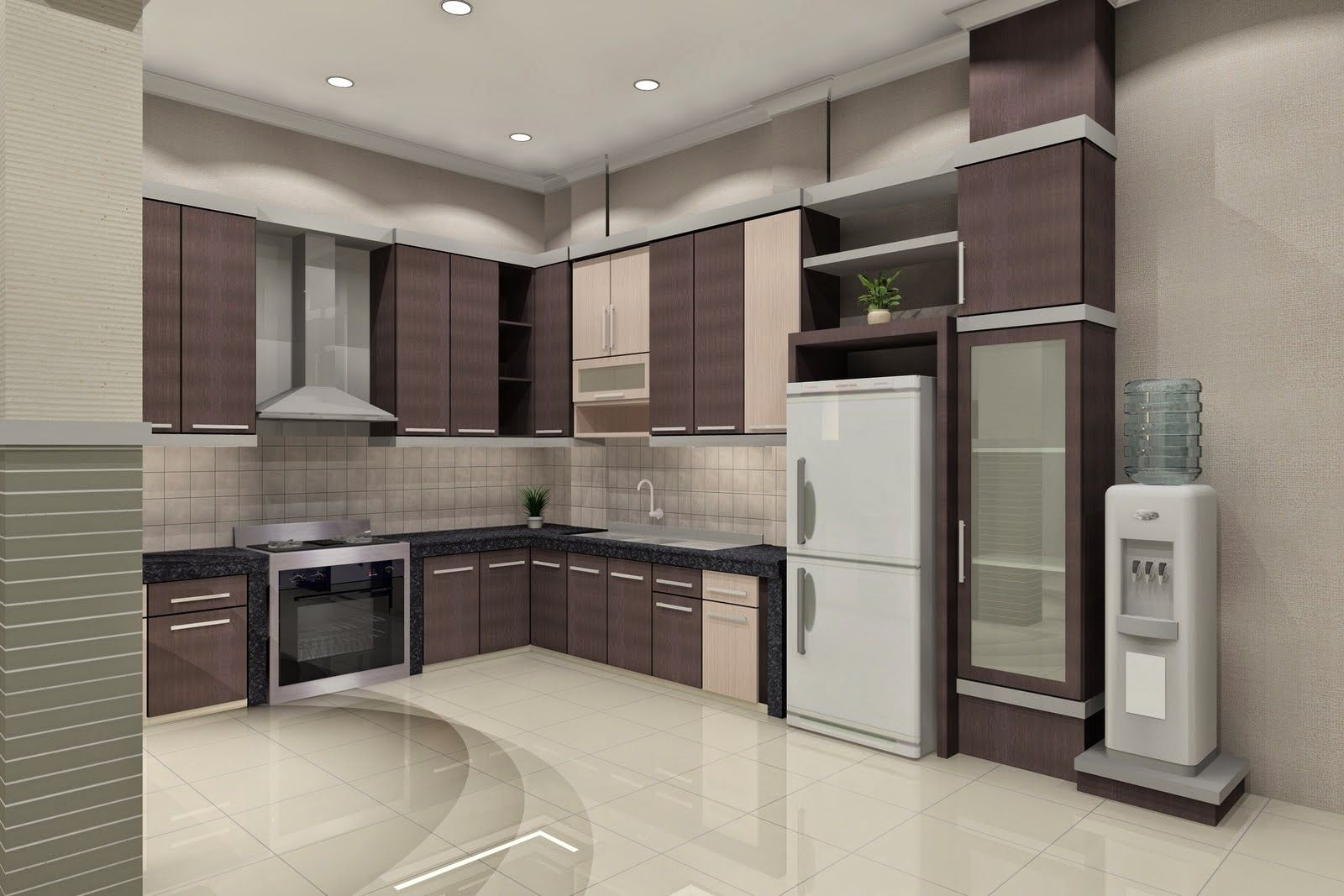 Examples of simple minimalist kitchen design new home designs