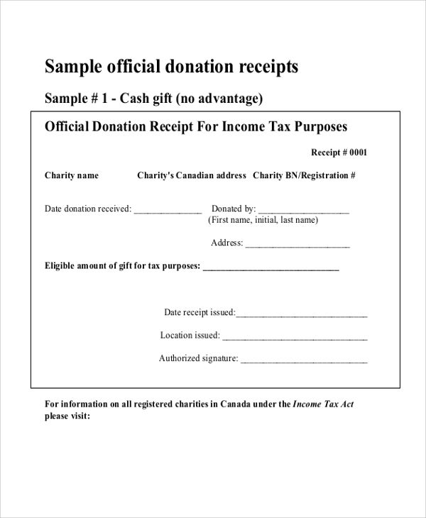 Donation Receipt Templates 17 Free Printable Word Excel Pdf Samples Receipt Template Receipt Templates