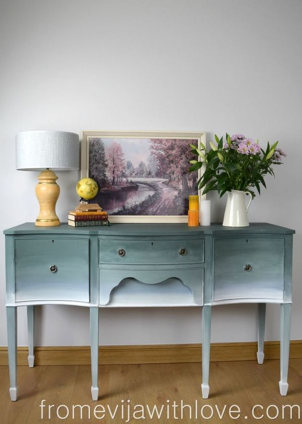 Create a Beautiful Ombre Effect on Furniture in 2020 Diy