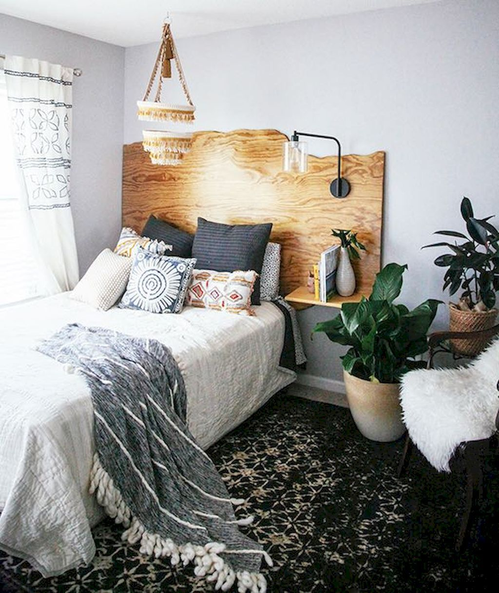 Best Beautiful Bohemian Style Master Bedroom Ideas 52 Apartment Bedroom Decor Home Bedroom Small 400 x 300
