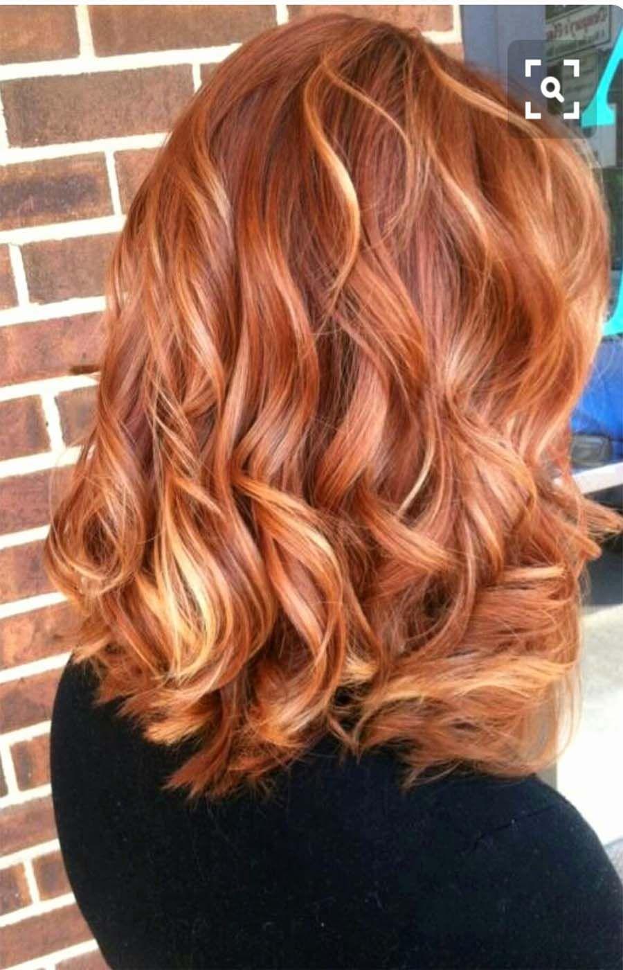 Copper medium hair color idea 2019   Ginger hair color, Cute blonde hair, Hair color for black hair