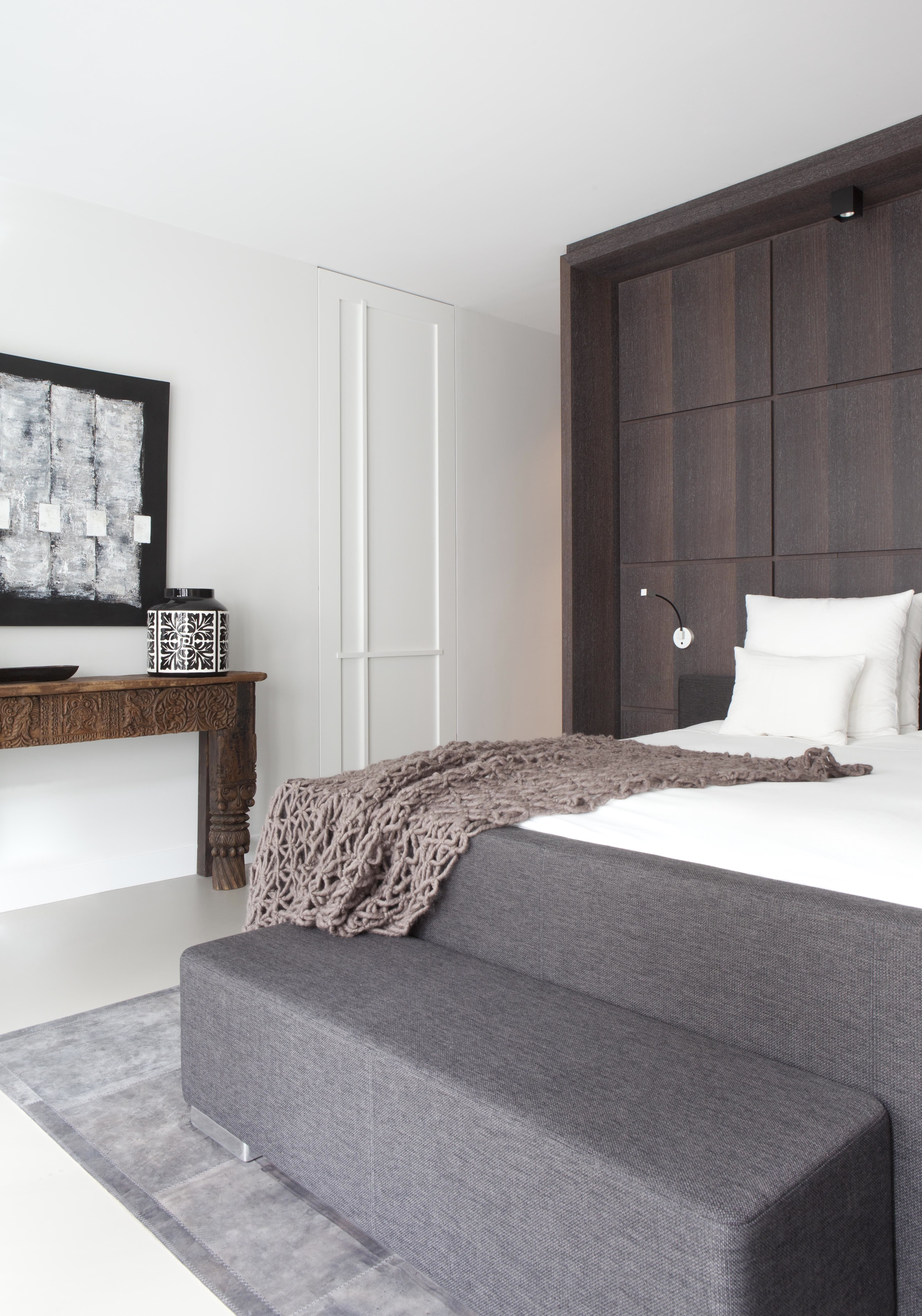 Penthouse Amsterdam master bedroom design Remy Meijers