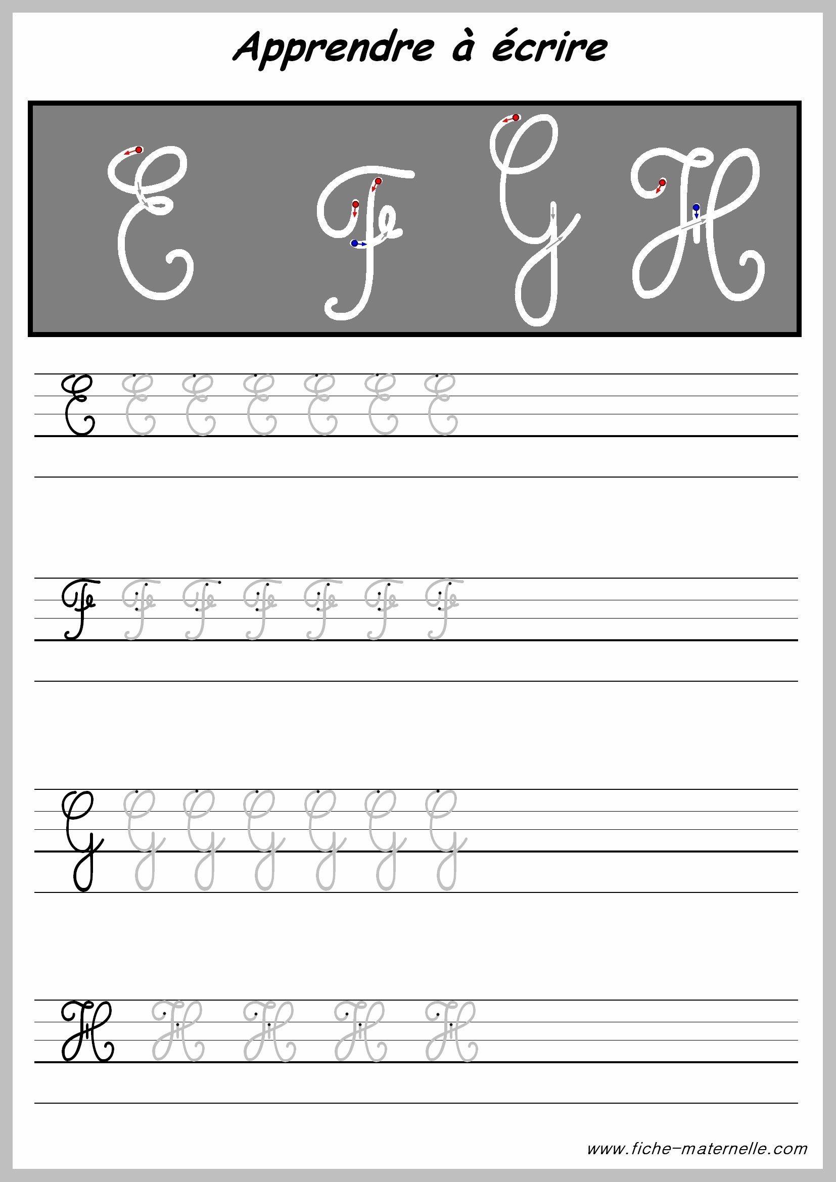 Apprendre tracer les lettres majuscules broderies pinterest les lettres majuscules la - Apprendre a broder des lettres ...
