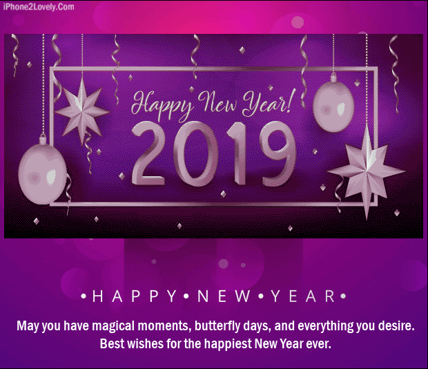 new year 2019 logical romantic saying with love image