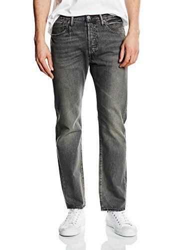 501 Original Straight Fit, Vaqueros para Hombre, Gris (Urban Grey 2116), W30/L34 Levi's