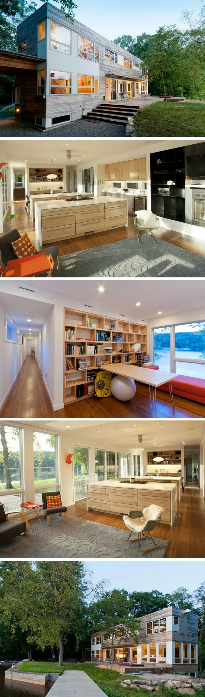 Lake iosco shipping container house mod cabins pinterest lakes