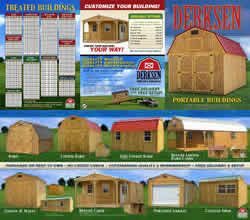 Enterprise Center Texas Authorised Dealer Of Derksen Portable Storage Buildings Sheds Cabins Garages Barns And