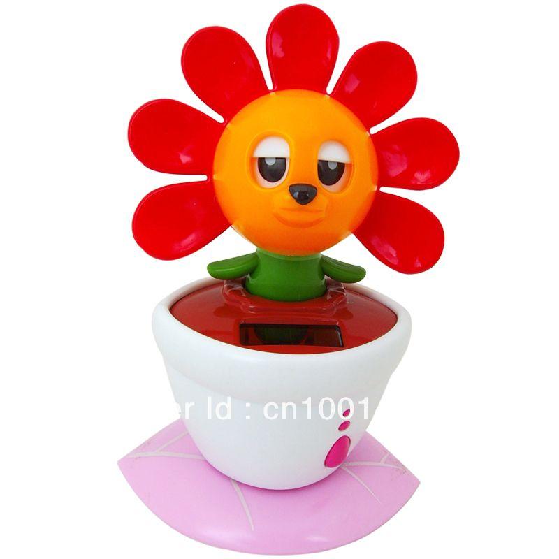 Flower Solar Powered Toys Solar Flower Solar Gadgets Products