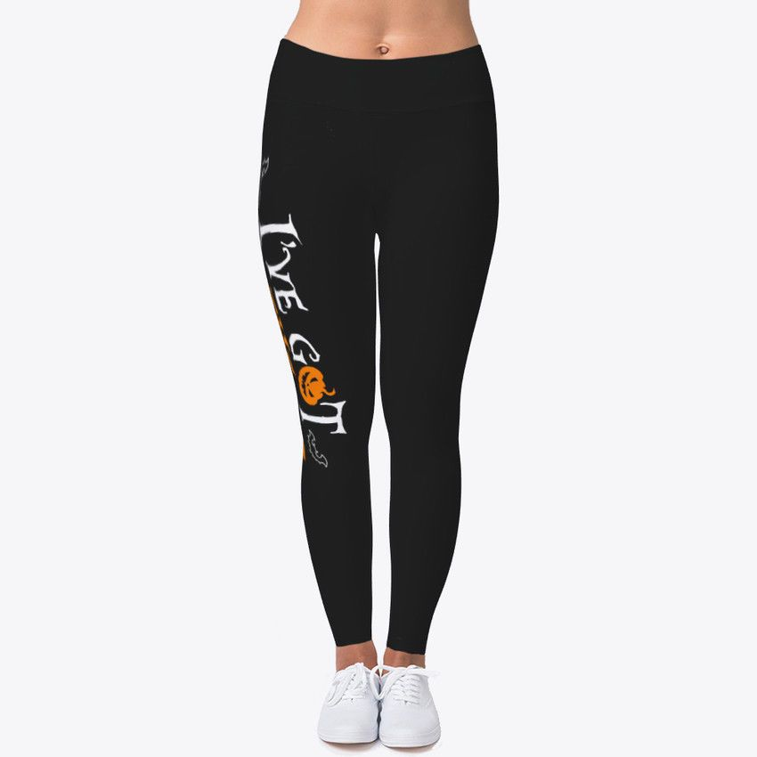 c646e1a22543 Ive Got The Tricks Halloween Women s Print Fitness Stretch Leggings Yoga  Pants  fashion  clothing  shoes  accessories  womensclothing  leggings  (ebay link)
