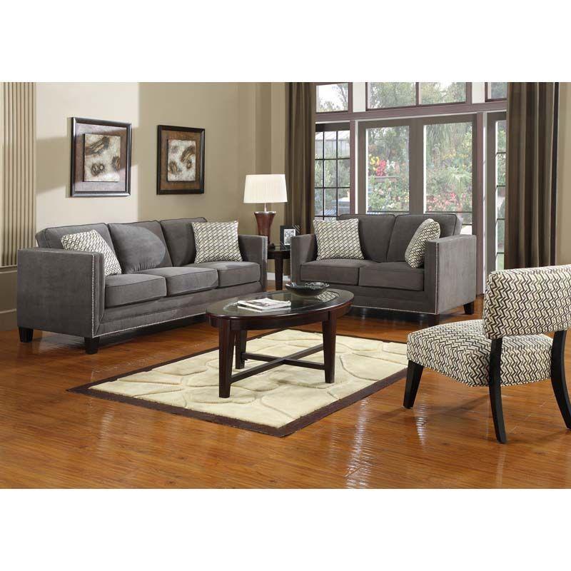 gray sectional sofa  emerald gray sofa setu31392pc