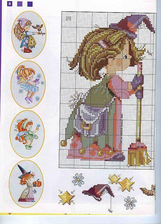 chicas tengo muchos patrones d punto d cruz   Cross stitch ...