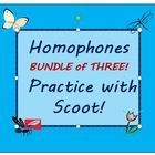 """Let's play """"scoot!""""  This game is fun to play and gets your students up and moving!    This common core aligned bundle contains three sets """"scoot"""" ..."""
