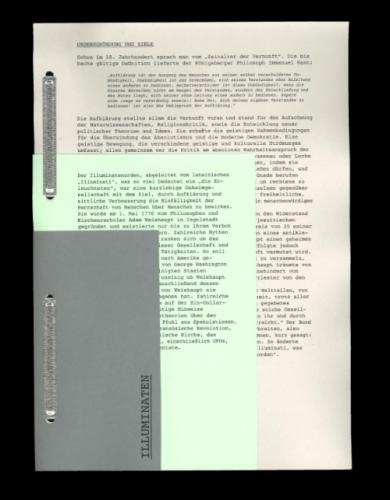 Illuminaten Graphic Design Books Book Layout Publication Design