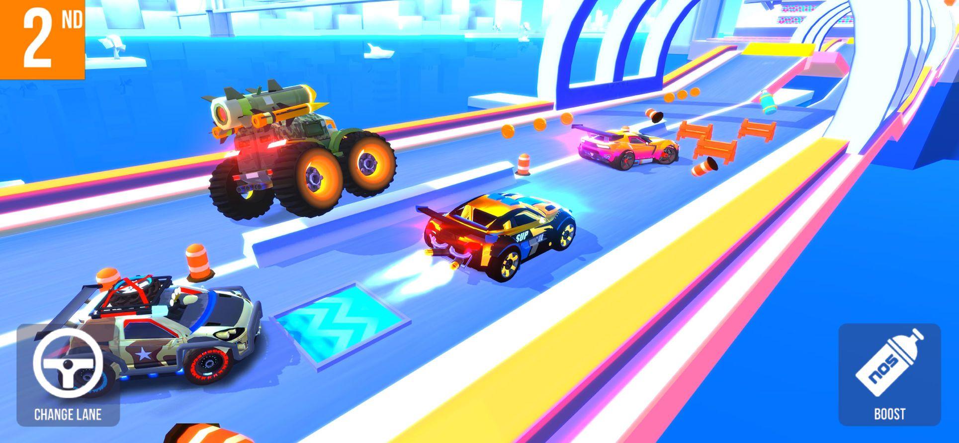 SUP Multiplayer Racing iosArcadeappapps Racing