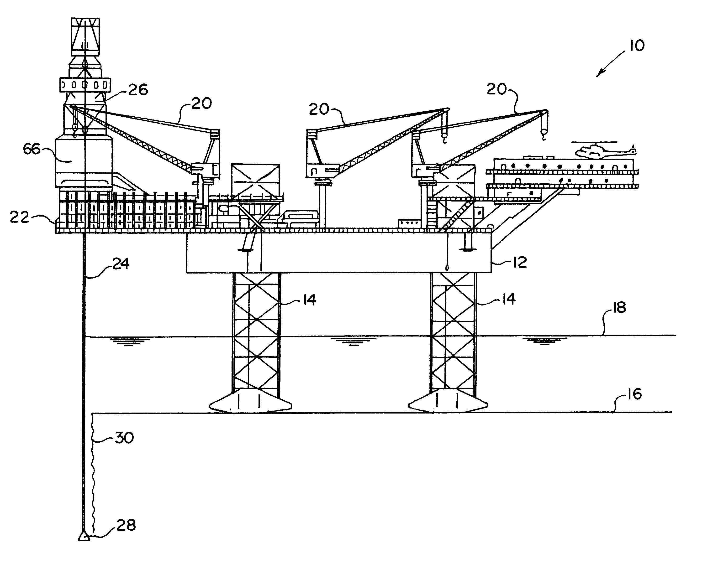 oil rig blueprint