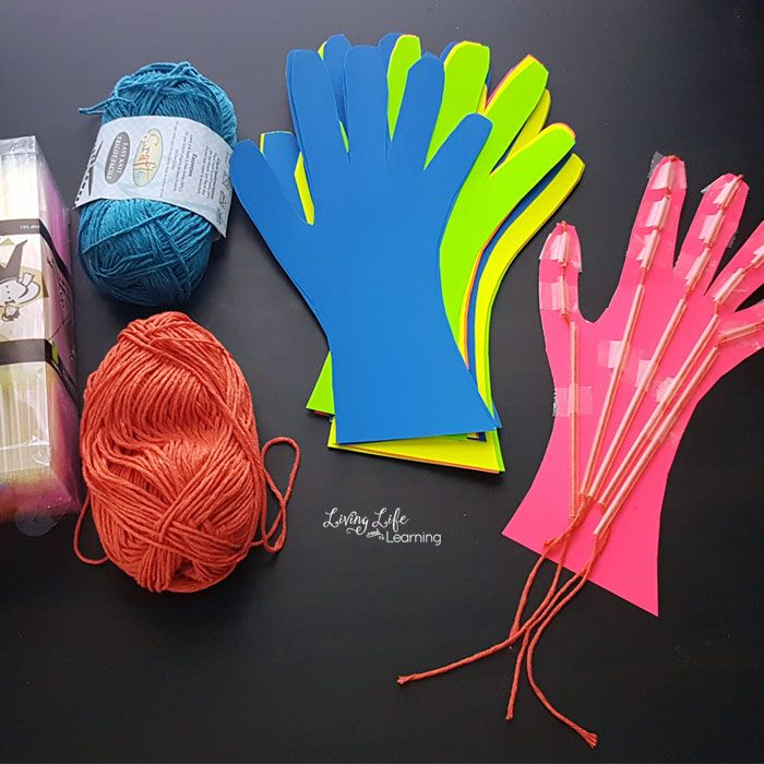 Awesome Muscular System Hand Craft For Kids Camp Mom Pinterest